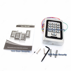 Image 3 - Backlight Keypad  Metal Access 2000 Users 125khz  RFID Access Control System Outdoor Use 9 to 28 Wiegand 26 bit Fast Speed