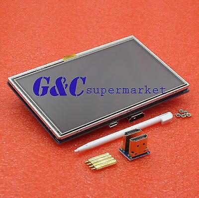 "5 ""Дюймовый 800x480 HDMI Сенсорный ЖК-Экран Pi2 Raspberry Pi Model B + +"