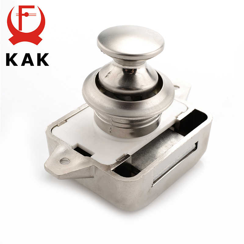 KAK Camper Car Push Lock диаметр 26 мм кэмпер караван лодочный мотор для дома, офиса защелки ящика замки с кнопками для мебели оборудования