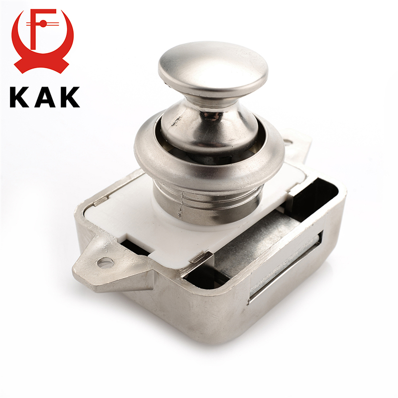 Camper Car Push Lock Rv Caravan Boat Motor Home Cabinet Drawer Latch Button Locks For Furniture Hardware Atv,rv,boat & Other Vehicle Rv Parts & Accessories
