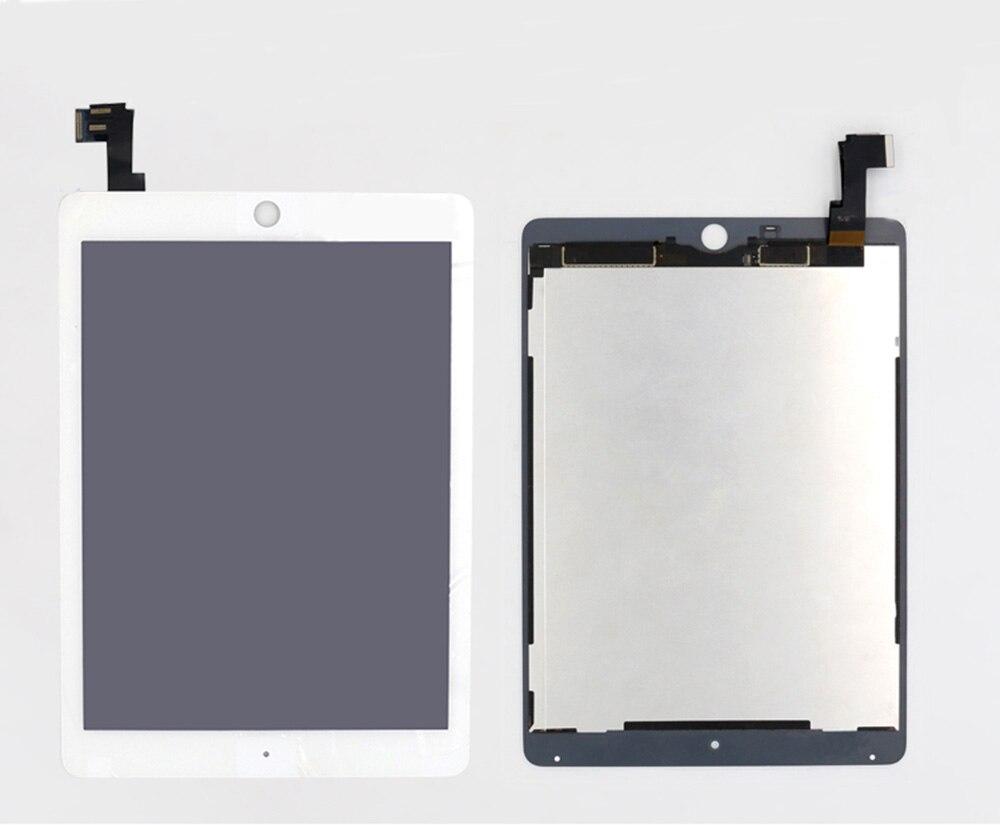 Замена Новый ЖК дисплей + сенсорный экран сборки для iPad Air 2 iPad 6 A1567 A1566 черный, белый цвет