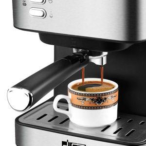 Image 5 - DSP חצי אוטומטי מכונת קפה נירוסטה אספרסו יצרנית באופן מלא פונקציונלי בית תצוגת מלא בקרת טמפרטורה