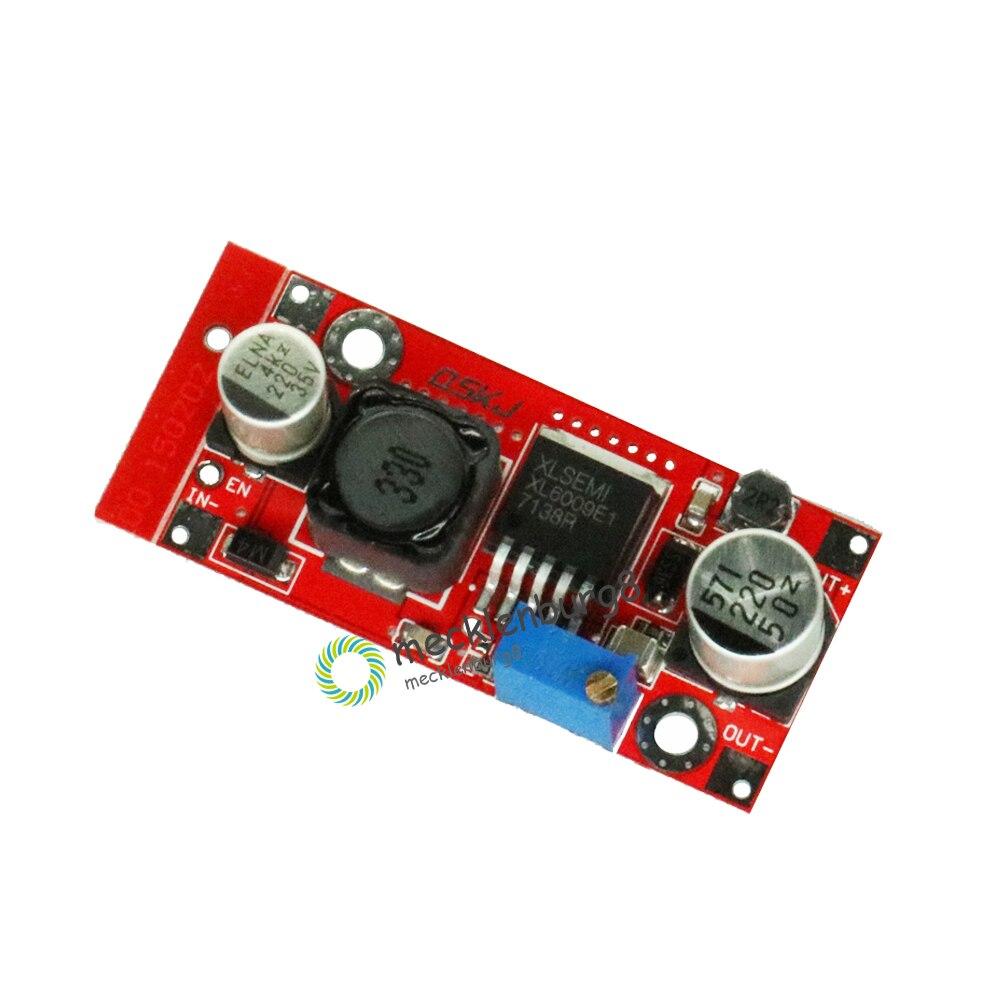 DC-DC Step Up Boost Power Converter Module XL6009 Adjustable 3-32 V To 5-35 V Step-Up Voltage Regulator Replace LM2577