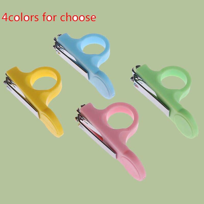 Детские ножницы для ухода за ногтями, безопасный триммер для ногтей, ножницы для новорожденных