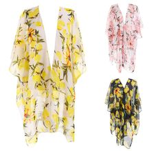 Oversized Floral Duster -Cape Dresses; The Best Capes You Must-Have
