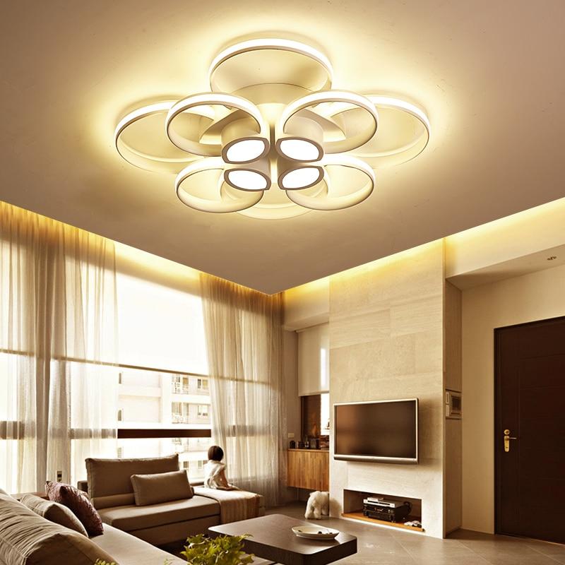 Modern LED ceiling lights for living room bedroom study room AC90~260V ceiling lamp Lampara de techo decoration lighting fixture все цены