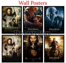 The Lord of the Rings Return King White Kraft Paper Art Painting Print Poster Picture Wall Fashion Home Decor 42X30cm