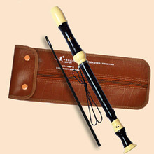 Profissional Baroque Alto 8 Holes Recorder F Key English-style Clarinet Musical Instrument Chinese Vertical Flute