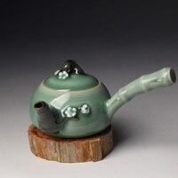 Kung Fu Teapot Longquan Celadon Tea Set Handmade Works Of Art Gift Box Packaging