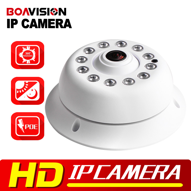 HD 720P 1.0MP IP Network Camera 36 IR LED Security Dome Camera Nightvision ONVIF