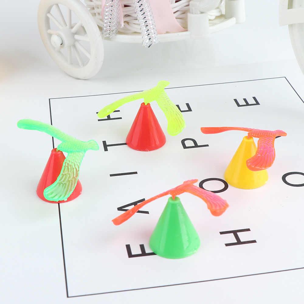 פלסטיק מיני DIY תינוק צעצועי איזון ציפור צעצוע שולחן תצוגת מלאכות תפאורה ילדי מתנה Fummy חידוש צעצועים