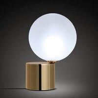 Retro copper study and work LED desk lamp modern minimalist fashion European Eye table lamp
