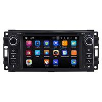 Android 7 12 Quad Core Car DVD GPS For Jeep Wrangler Compass Grand Cherokee Commander Liberty