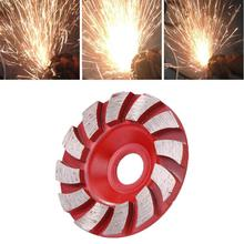 100 мм и 90 мм Алмазный шлифовальный круг бетонный гранитный керамический шлифовальный диск абразивный инструмент форма чаши керамические s инструменты