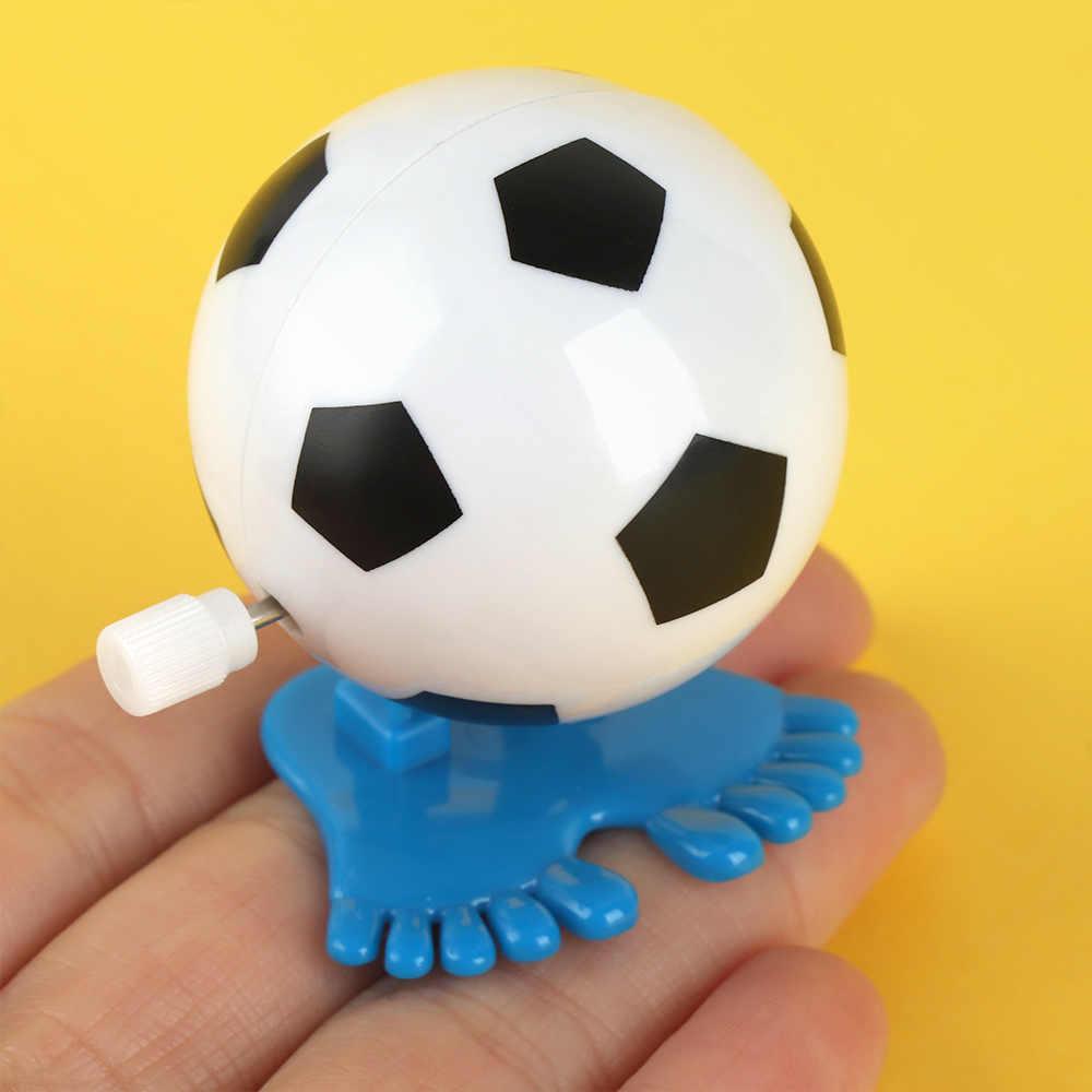 مضحك الاطفال الكلاسيكية الرياح حتى التعليمية البرتقالة ABS لعب القفز كرة القدم شكل جديد عمل أرقام لعبة للأطفال