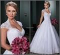 Vestido de noiva ball gown wedding dresses open back sexy vestido de casamento Chapel train bridal gown 2015 robe de mariage