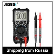 MESTEK Digital Multimeter 6000 Counts AC/DC Ammeter Voltmeter Ohm Mult