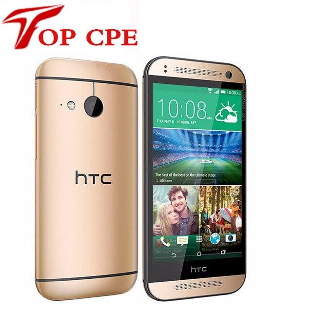 "M8 MINI Оригинальный HTC One Mini 2 Кач Ядро 4.5 ""Сенсорный Экран 16 ГБ Хранения 13MP Камера WIFI GPS 4 Г LTE Android Телефон Бесплатно доставка"