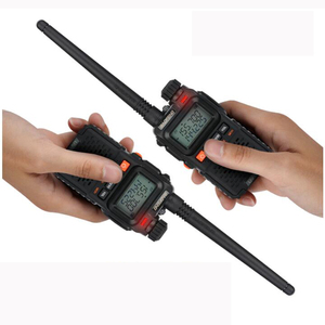 Image 5 - Baofeng UV 3R Plus Mini Walkie Talkie CB Ham VHF UHF Radio Station Transceiver Boafeng Amador Communicator Woki Toki Handheld
