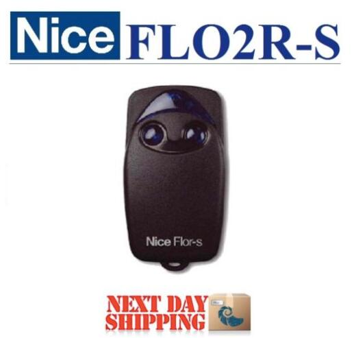 Nice FLO2R-S replacement garage door remote control free shipping