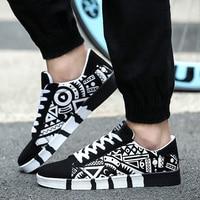 Тренд новый дизайн холст обувь для скейтбординга Досуг для мужчин's спортивная обувь удобная тканевая мужчин студент школьная спортивная обувь 917916