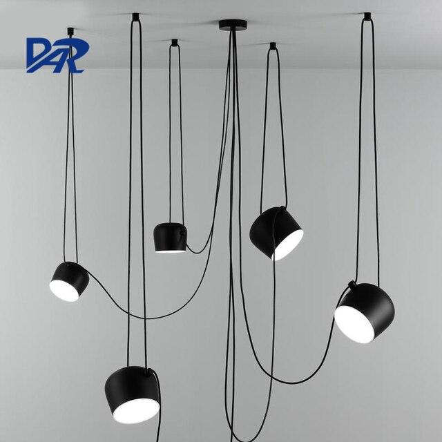kreative design weischwarz trommel kronleuchter diy 1234 - Kronleuchter Licht Mit Trommel