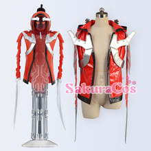 Faux Leather Hoodie Jacket!Anime Masked Rider GHOST Musashi Tenkuuji Takeru cosplay costume Outer Top Unisex S-XL stock size NEW