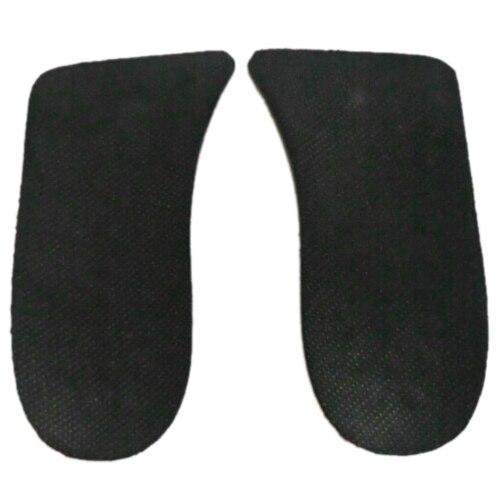 Vsen/10 pcsman черный мягкий силиконовый двойной Слои 2 up Обувь колодки высота Стельки пара ...