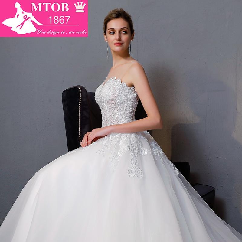 Νέα Άφιξη A-line πολυτέλεια Vintage νυφικό - Γαμήλια φορέματα - Φωτογραφία 6