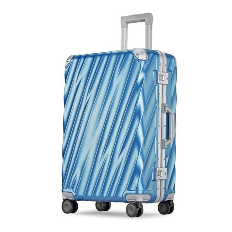 BeaSumore Aluminum frame Rolling Luggage Spinner 20 inch Cabin Suitcase Wheels Travel Bag 29 inch Men