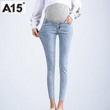 Брюки для беременных джинсы Беременность Костюмы Одежда для беременных джинсы для беременных женщин живот синий женские узкие джинсы брюки