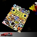 Free Shipping Kingmagic Stamps Book Magic stamp Album Close-Up Magic Props