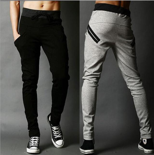 2016 Top Regular Mid New Clothing Men Pants Summer Explosion Models Casual Slim Harlan Feet Mens Joggers Full Length Trousers
