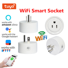 Smart Plug Wifi Smart Socket Smart Life Remote Control Home Automation Plug  US Plug Works With Google Home Mini Alexa IFTTT wall socket home security alexa compatible surge protection zigbee home automation solution smart metering plug