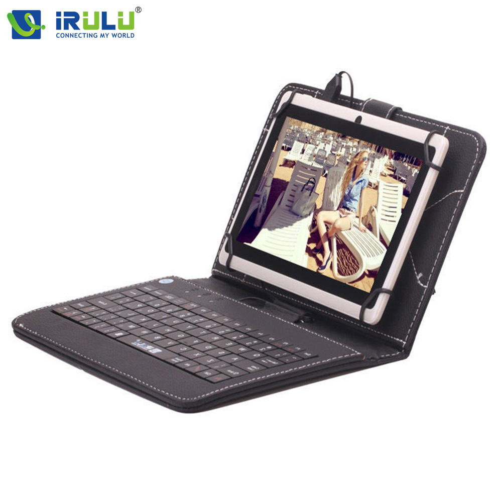 ФОТО iRULU eXpro X1 7'' Tablet Allwinner Android 4.4 Quad Core Tablet Dual Cameras 8GB ROM supports WiFi OTG Multi with EN Keyboard