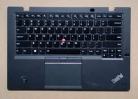 for Lenovo ThinkPad X1 Carbon 3rd 2015 US Backlight Keyboard Bezel Palmrest Cover Touchpad ClickPad 00HN945 00HT30