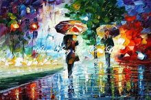 palette knife oil painting  modern oil painting canvas oil painting K385