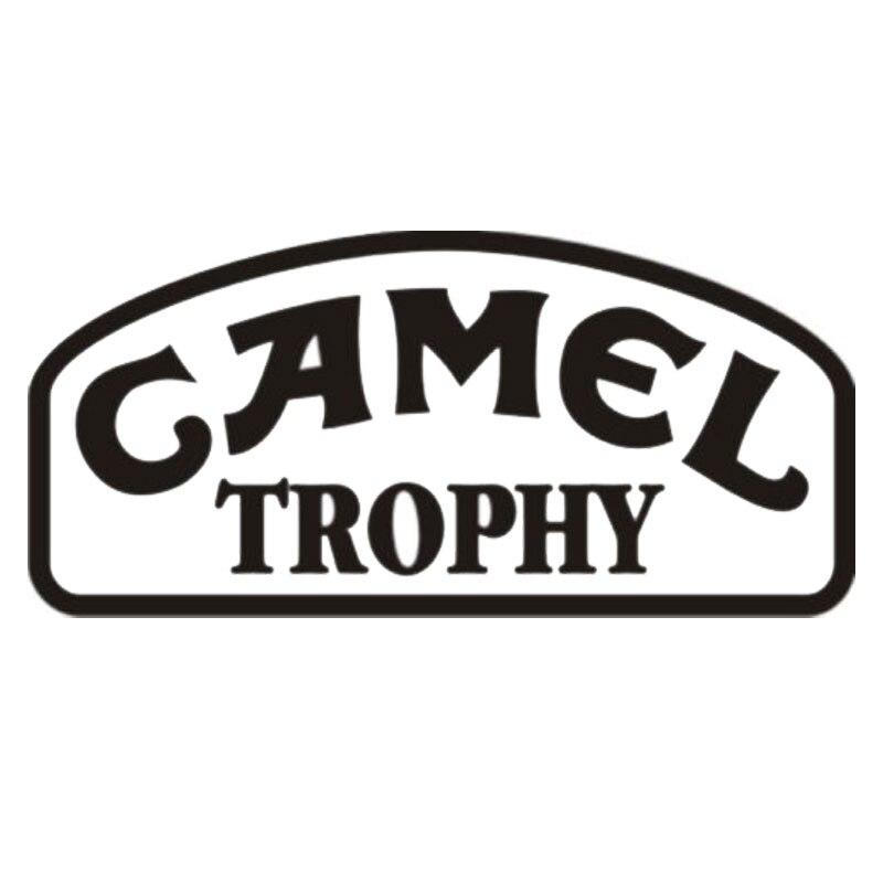 15CM*7.1CM Camel Trophy Vinyl Car Styling Fashion Accessories Decal Sticker C5-0908 hot sale 1pc longhorn hilux 900mm graphic vinyl sticker for toyota hilux decals badges detailing sticker car styling accessories