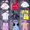 Niños de disfraces de piratas Role playing cosplay disfraces de Halloween chico ropa para jugar bombero Doctor ingeniero cocinero ropa de policía