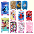 Spiderman boys and girls students ,20 inch Trolley , Children Spinner Wheels ,Suitcase ,Boarding Bag,Rolling Luggage
