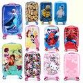 Spiderman niños y niñas estudiantes, 20 pulgadas de la Carretilla, niños Ruedas de Ruleta, maleta, Bolsa de embarque, Equipaje Rodante