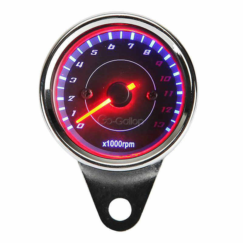LED Backlight Motorcycle Tachometer For Yamaha V Star XVS