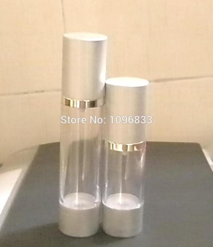 30 мл 30 г сріблястого кольору вакуумні - Інструмент для догляду за шкірою