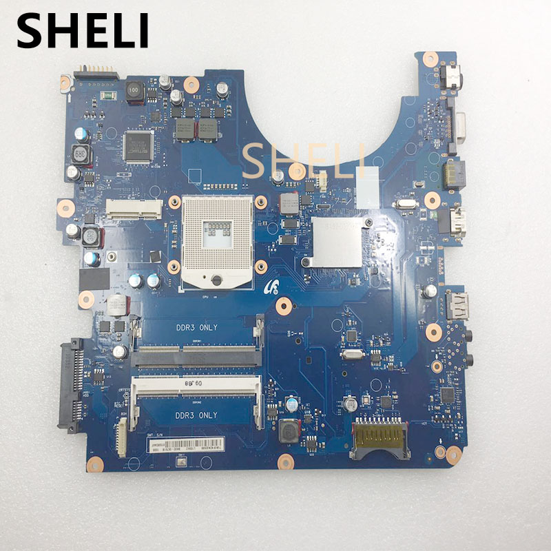 SHELI  For SAMSUNG  R530 R540 Motherboard HM55  BA92-06785B