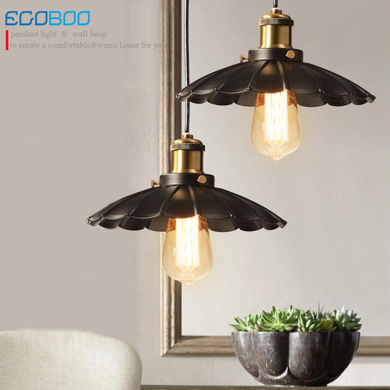 Loft Industrial Warehouse Pendant Lights American Country Lamps Vintage Lighting for Restaurant/Bedroom Home Decoration europe country 9 heads candle antler chandelier vintage lights american retro resin deer horn lamps for lighting decoration