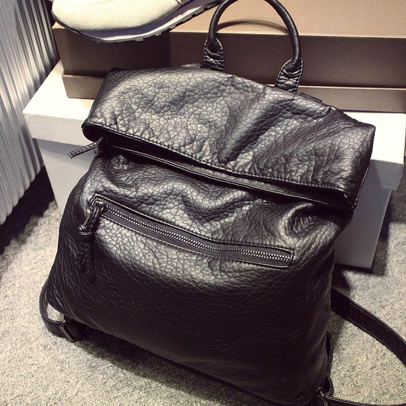 2017 lady genuine leather backpack women summer School Backpacks For Teenage Girls ladies shoulder bags female