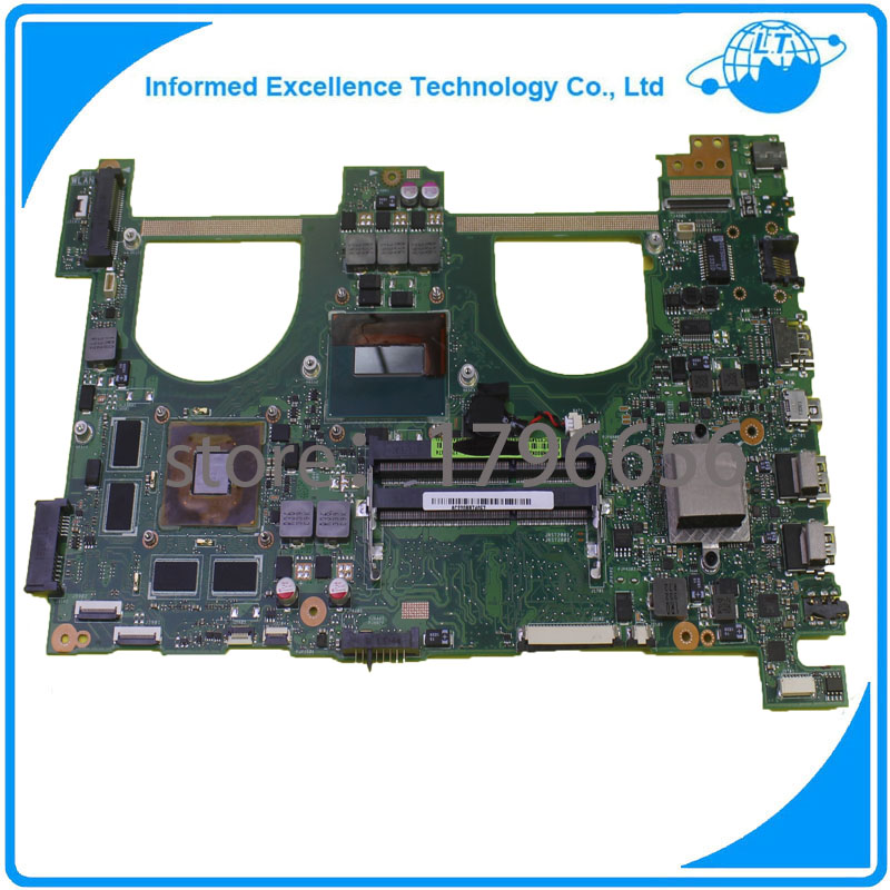 N550jv Laptop Motherboard for ASUS Q550jv Motherboard With i7 CPU PM