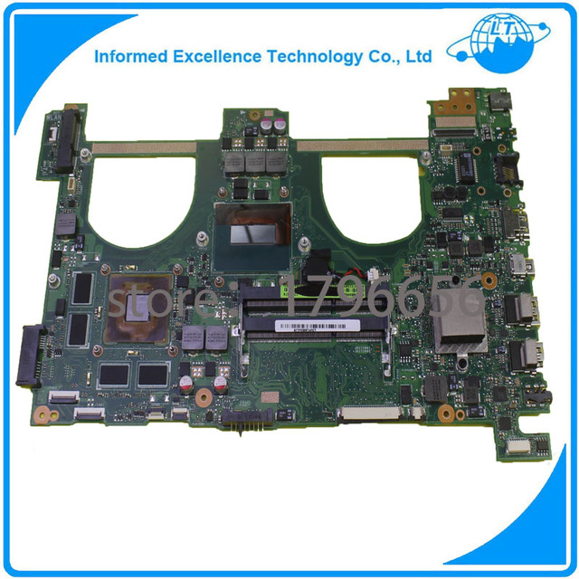 Placa madre del ordenador portátil para asus n550jv q550jv pm placa base con cpu i7