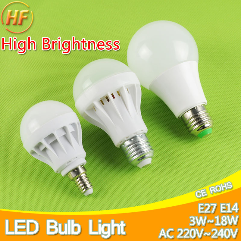 High-Grade E27 E14 LED Lamp LED Bulb Light 3W 5W 7W 9W 12W 15W 220V Real Watt SMD 2835 5730 LED lights Lampara Bombilla lampada 14 15 3 2015