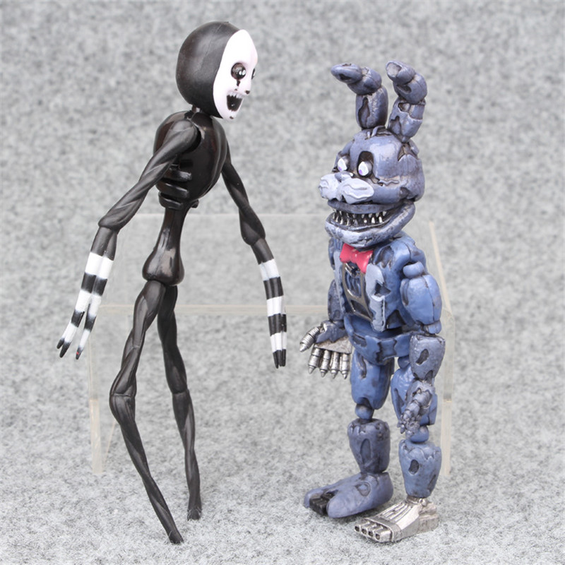 Image 4 - 6pcs/set At Freddy's Five Nights PVC Action figure 17cm Bonnie Foxy Freddy toys 5 Fazbear Bear Doll baby toys for Christmas gift-in Action & Toy Figures from Toys & Hobbies